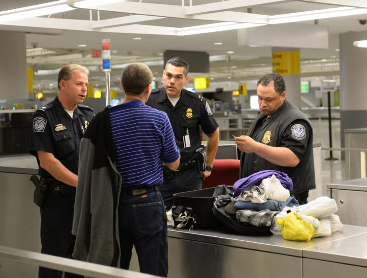 Money Seized at Miami International Airport